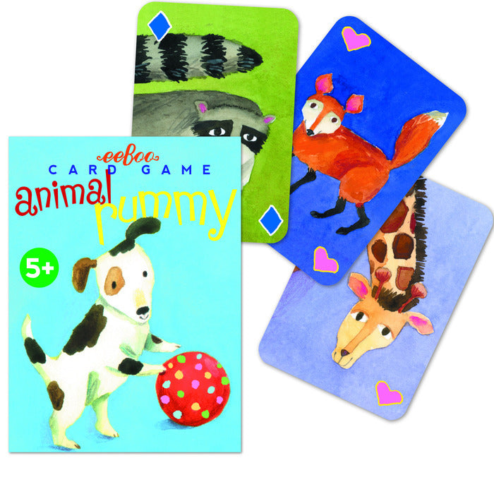 Card Game Animal Rummy
