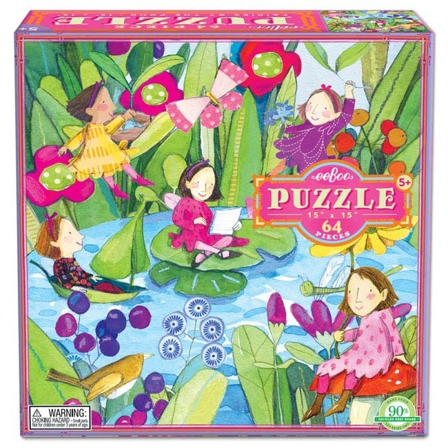 Puzzle 64pc Fairies by Pond