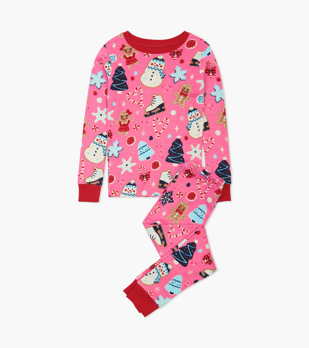 Hatley Organic Cotton Pajama Set - Sugar Rush