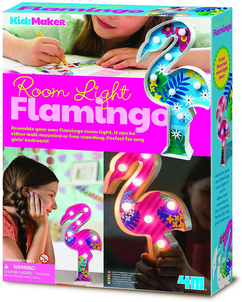 4M Kidzmaker - Flamingo Room Light Craft Kit