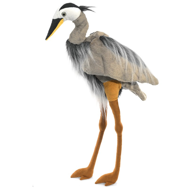 Puppet Great Blue Heron