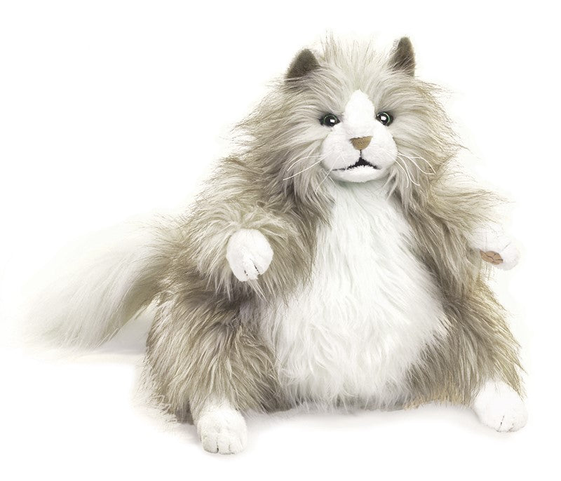 Puppet Fluffy Cat
