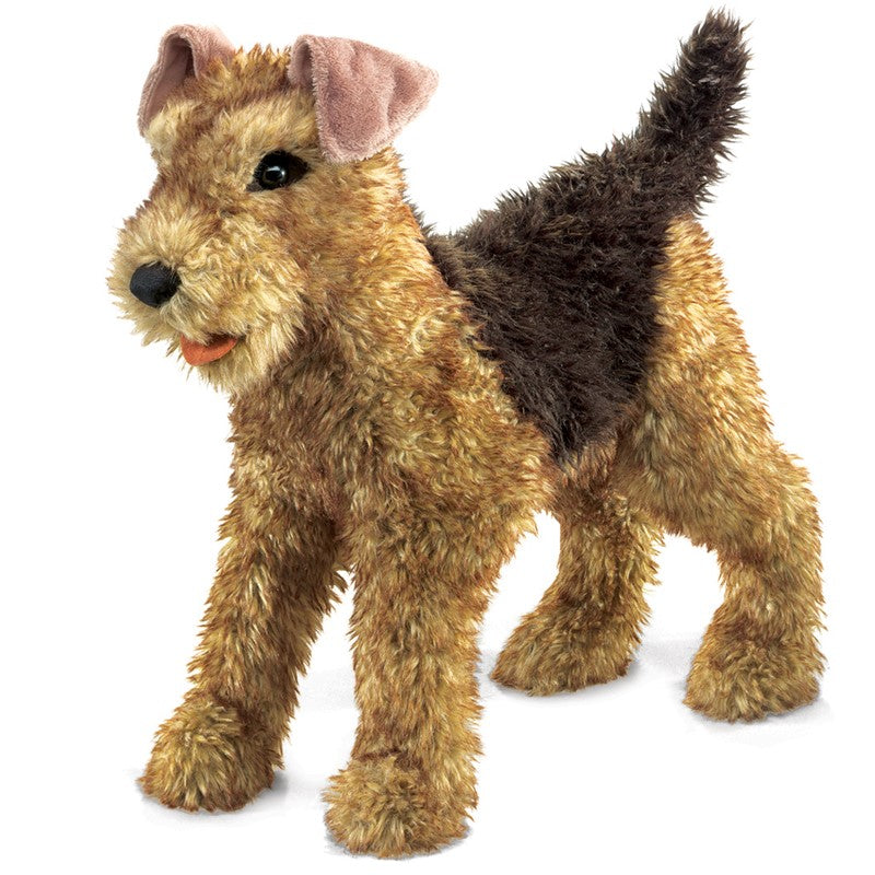 Puppet Airedale Terrier