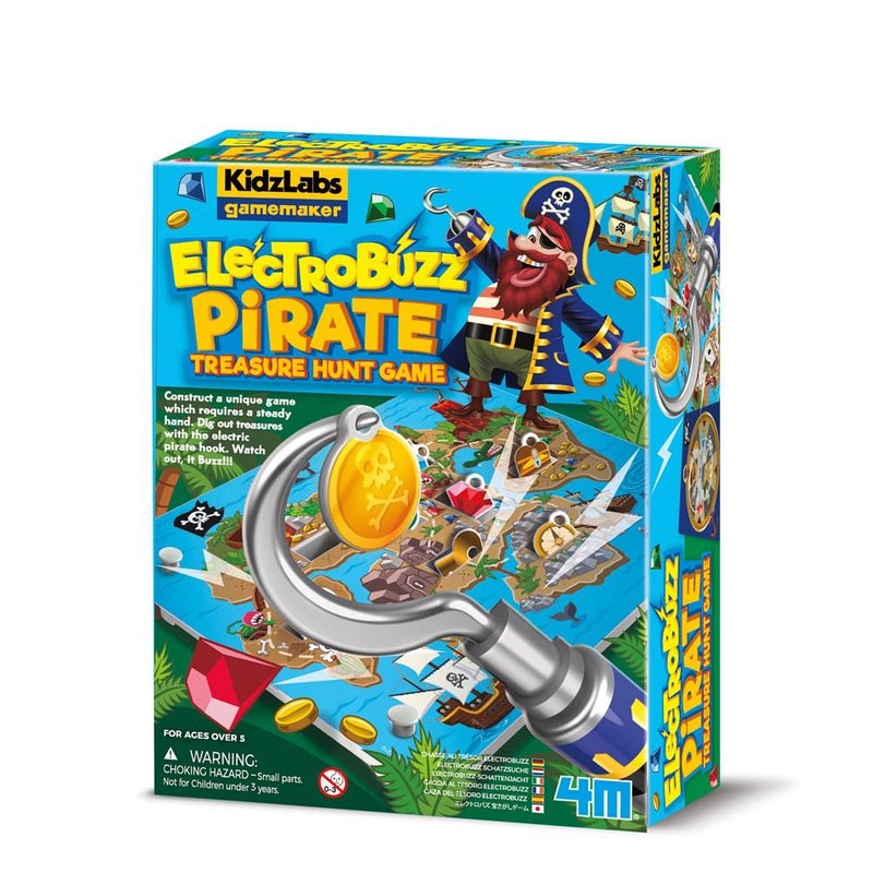 4M Kidz Labz Gamemaker - Electrobuzz Pirate Treasure Hunt Game