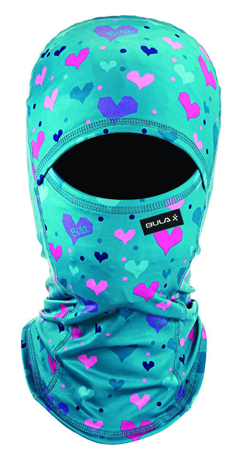 Bula Balaclava - Sharp - Heart Teal