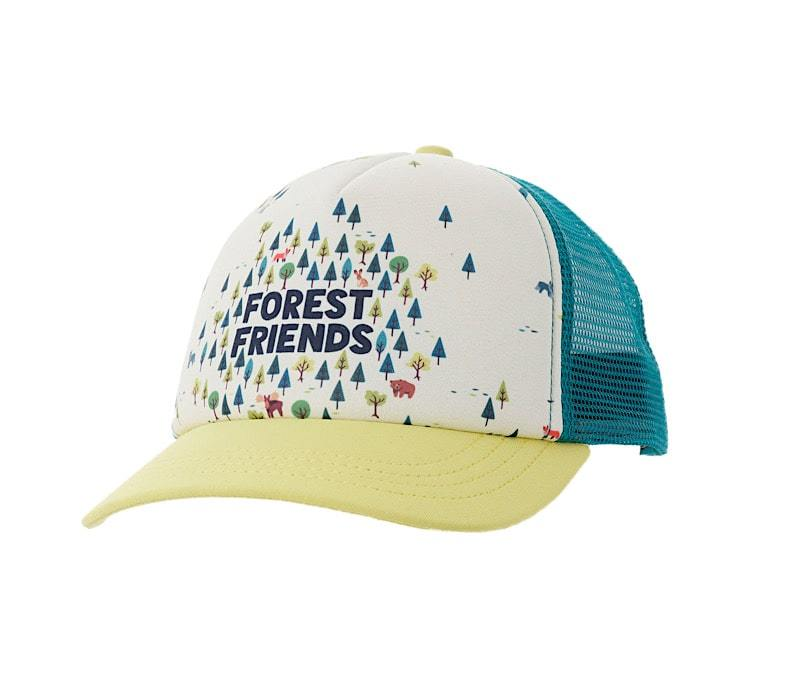 Ambler Kids Cap - Forest Friends - Yellow