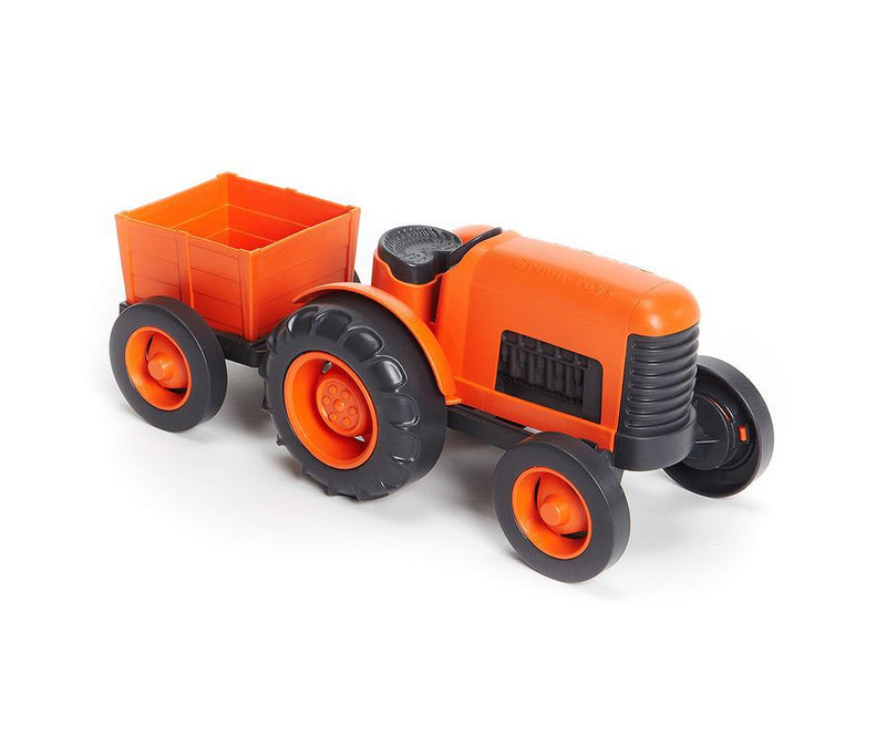 Green Toy Tractor