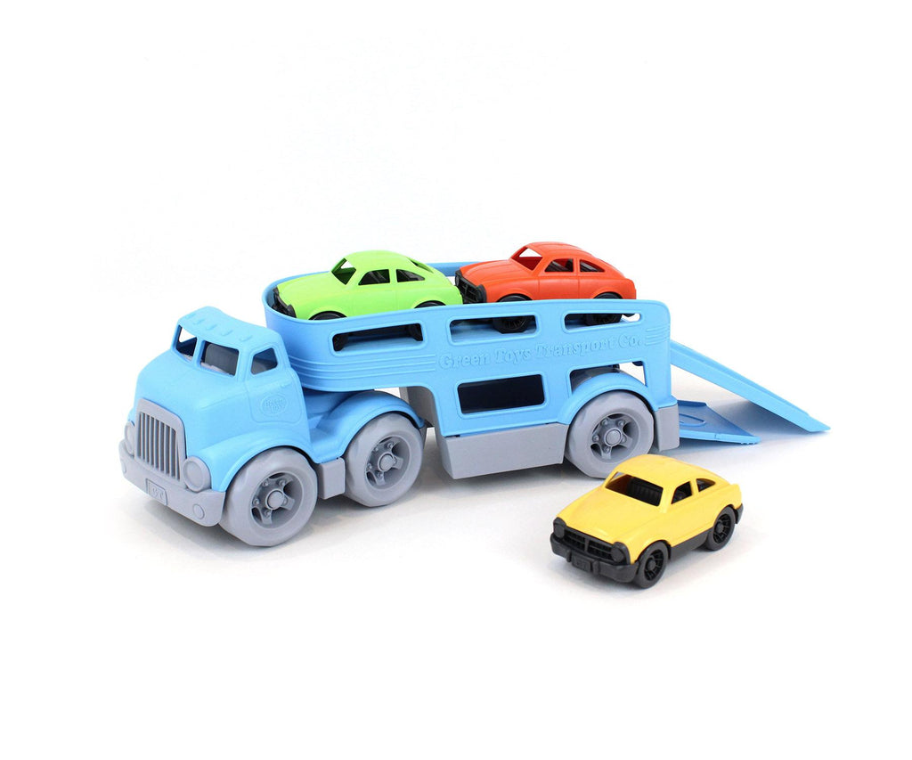 Green Toy Car Carrier