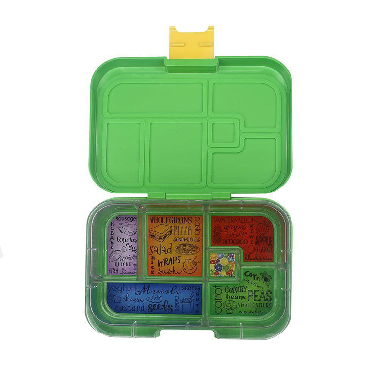 Munchbox Container - Maxi 6 - Green Jungle