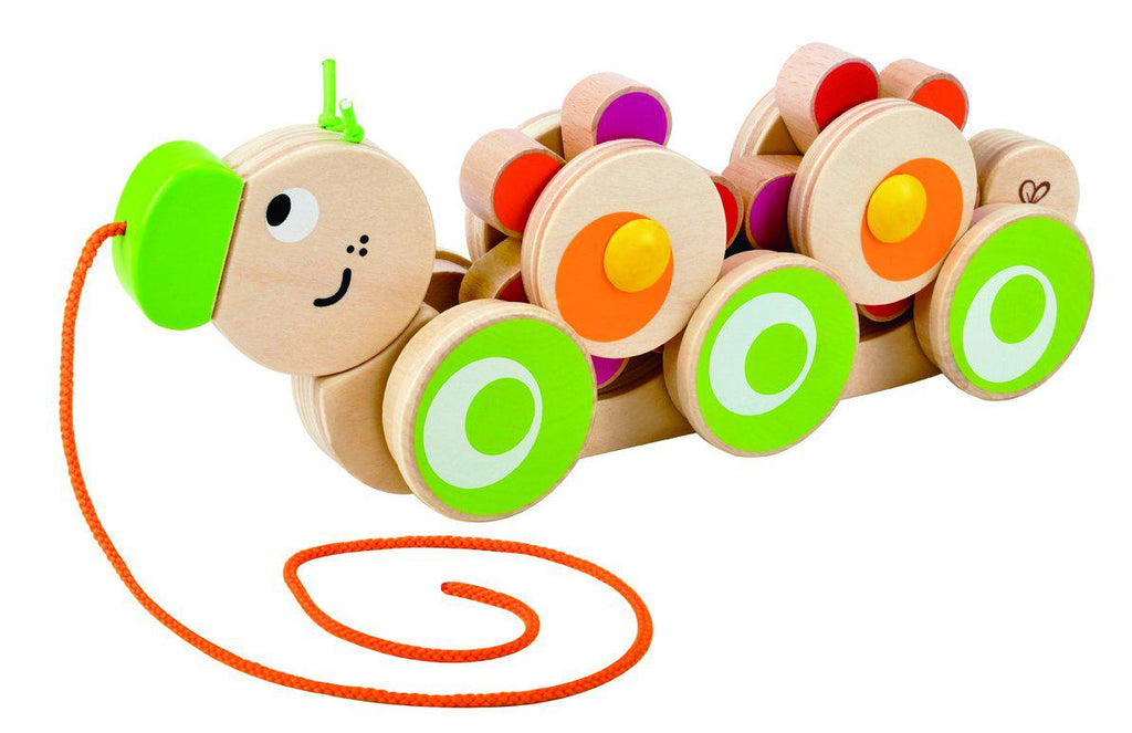Hape Walk-Along Caterpillar