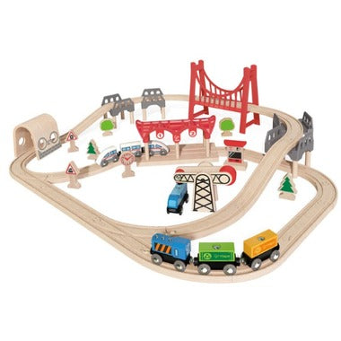 Hape Railway Set - Double Loop