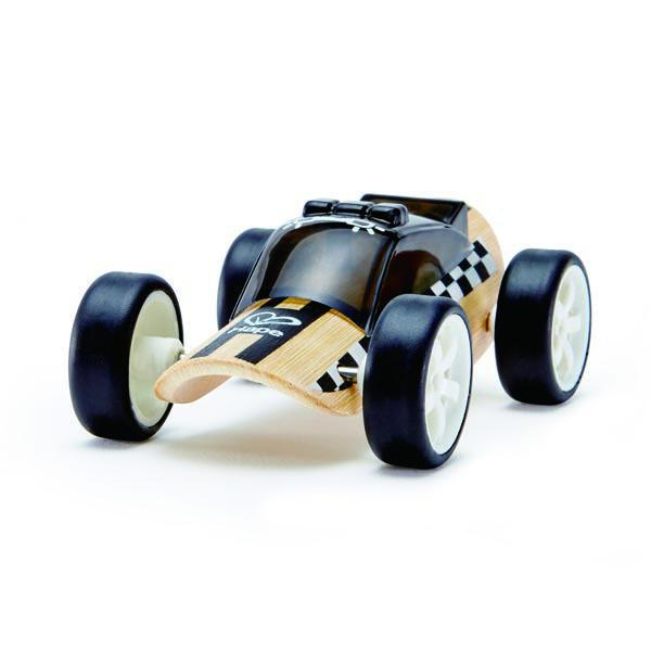Hape Mini Bamboo Police Car
