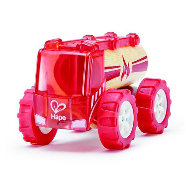 Hape Bamboo Mini Fire Truck