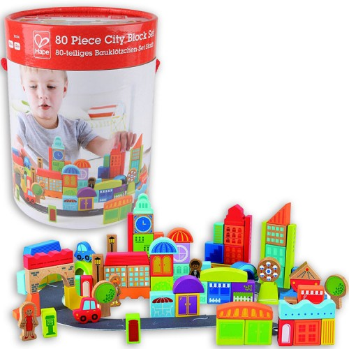 Hape City Block Set 80pc