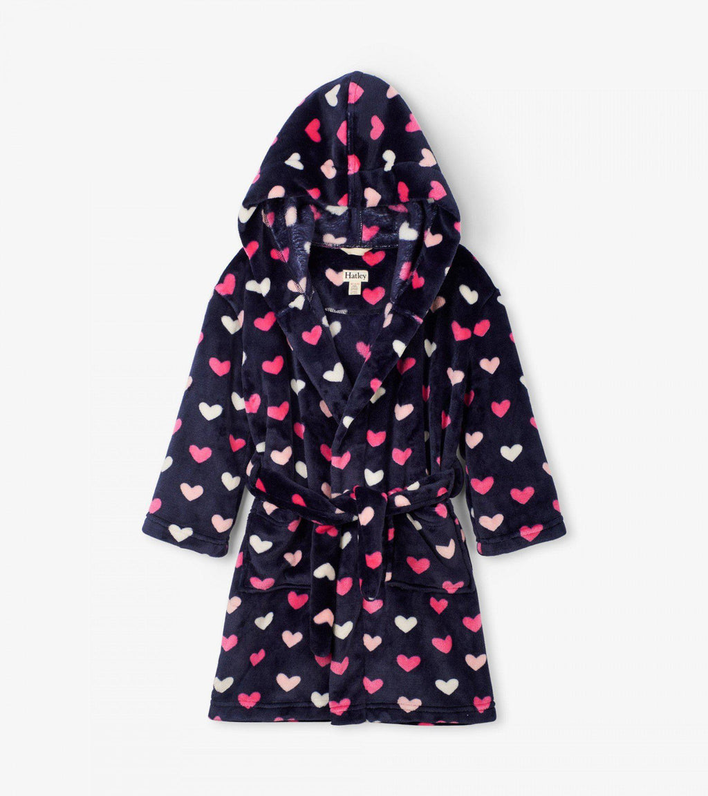 Hatley Robe - Hearts