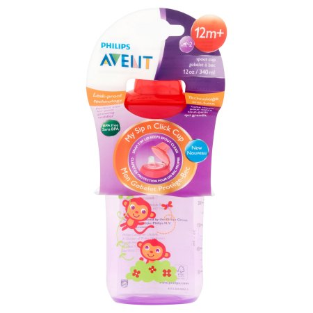 Avent Sip n Click 12oz Girls