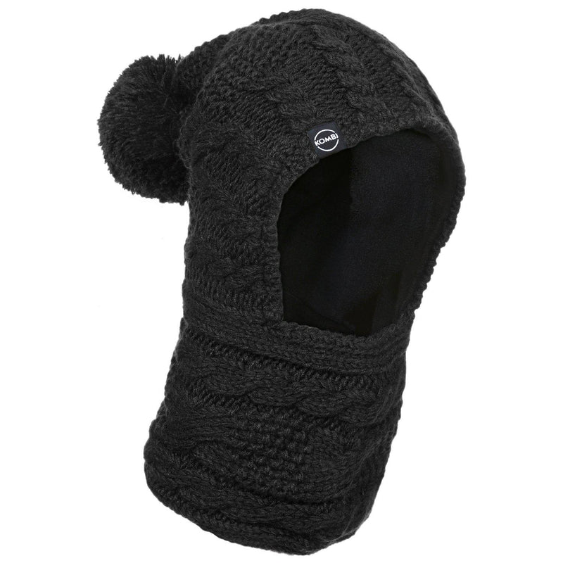 Balaclava  Snood Jr. - Black