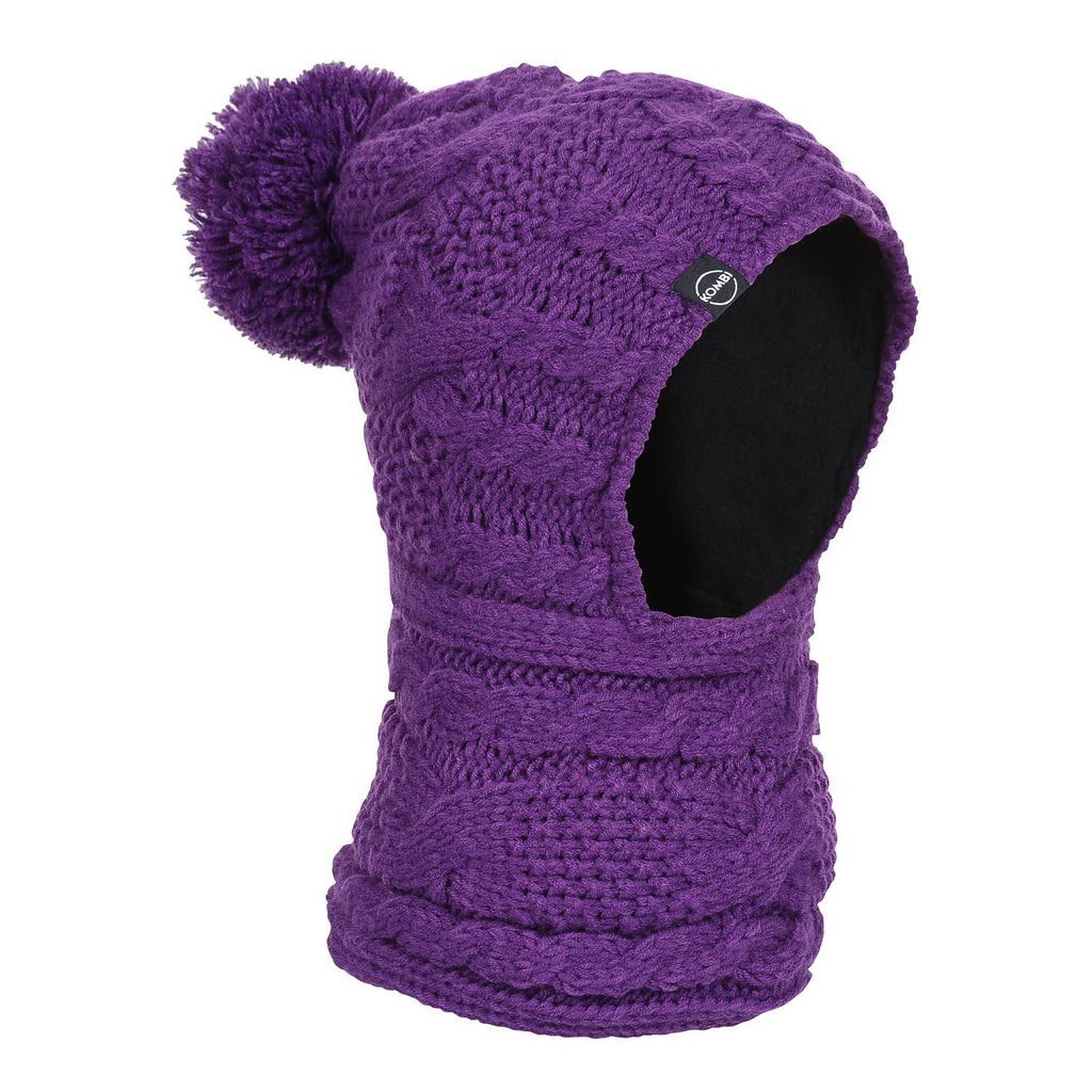 Balaclava Snood Jr. - Purple