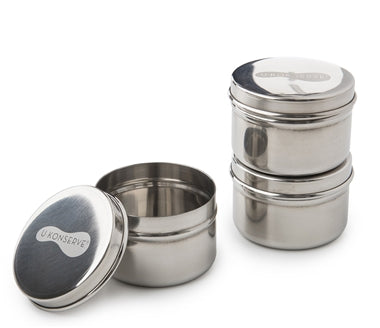 Mini Containers set of 3/2.5oz