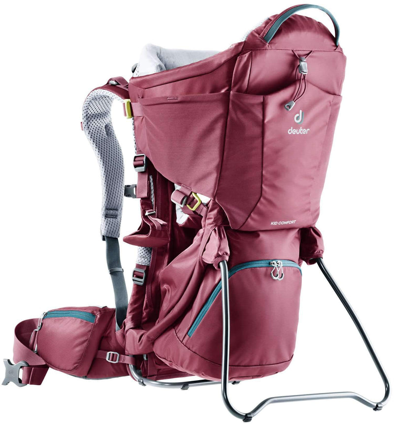 Deuter Child Carrier - Kid Comfort - Maroon