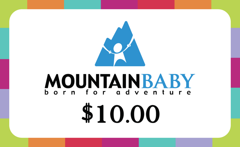 Mountain Baby In-Store Gift Card - $10