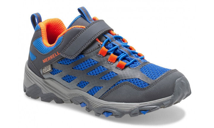 Merrell Moab FST AC Low Waterproof Runner -  Blue/Grey