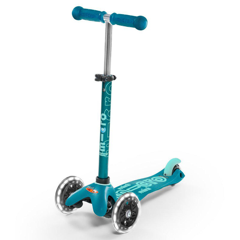 Micro Scooters Mini Micro Scooter DLX LED - Aqua