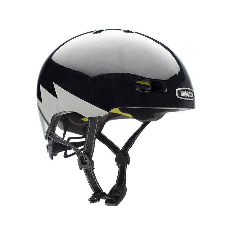 Nutcase Helmets - Street MIPS - Darth Lightnin' Reflective