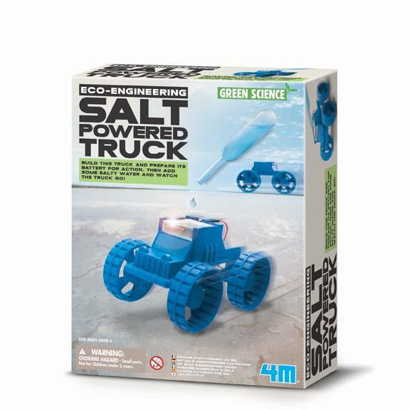 4M Green Science - Salt Powered Truck Kit