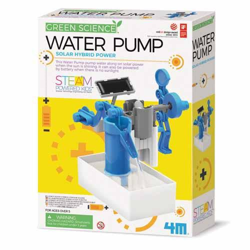 4M Green Science - Hybrid Power Water Pump Kit