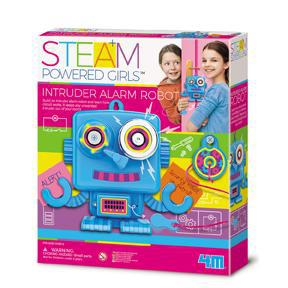 4M STEAM Powered Kids - Intruder Alarm Robot Kit