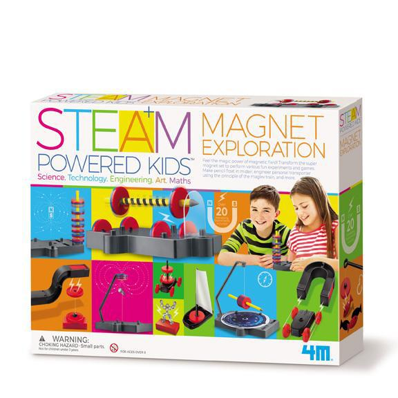 4M STEAM Powered Kids - Magnet Exploration Kit