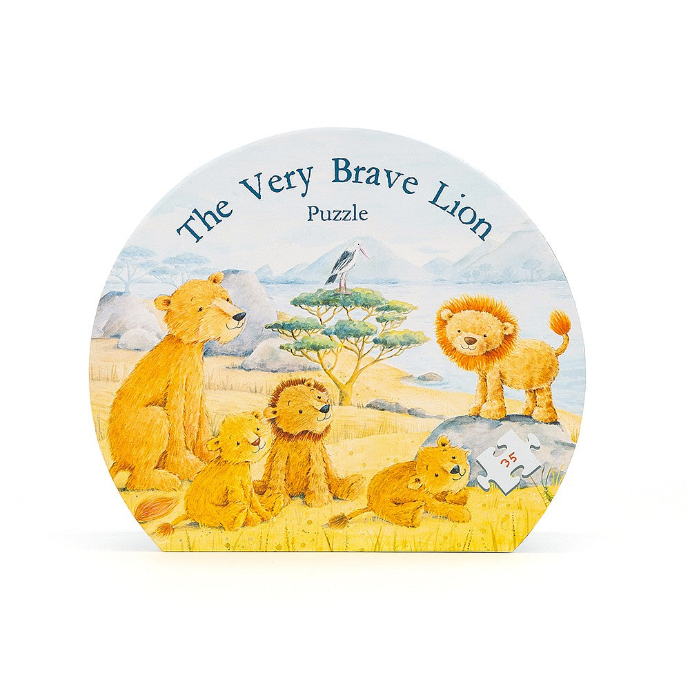 Jelly Cat Puzzle - 35 pc The Very Brave Lion