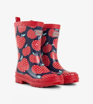 Rain Boot PDot Apple