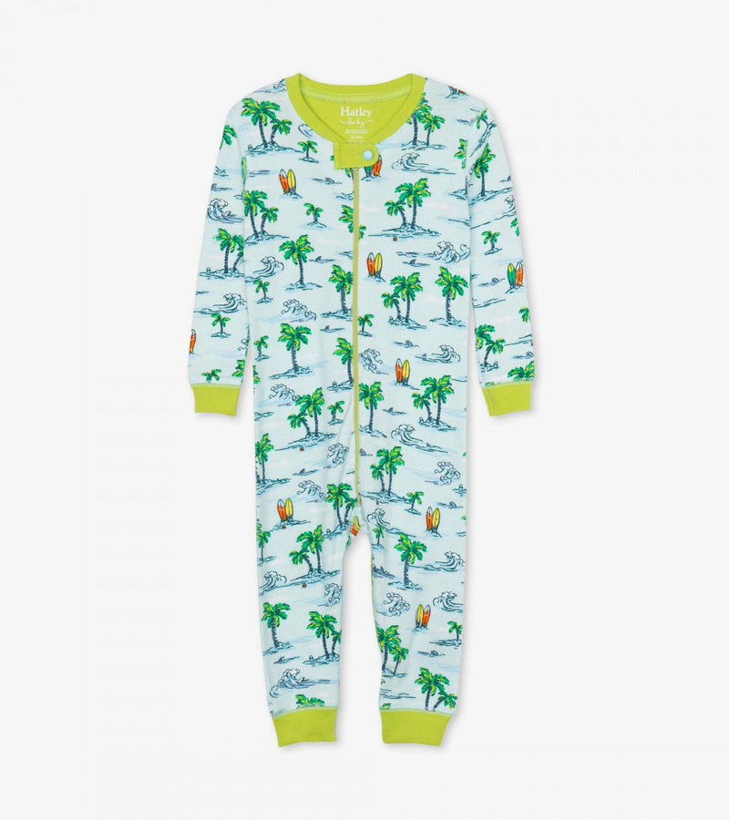 Hatley Baby Organic Cotton Coverall - Hawaiian Tropcs