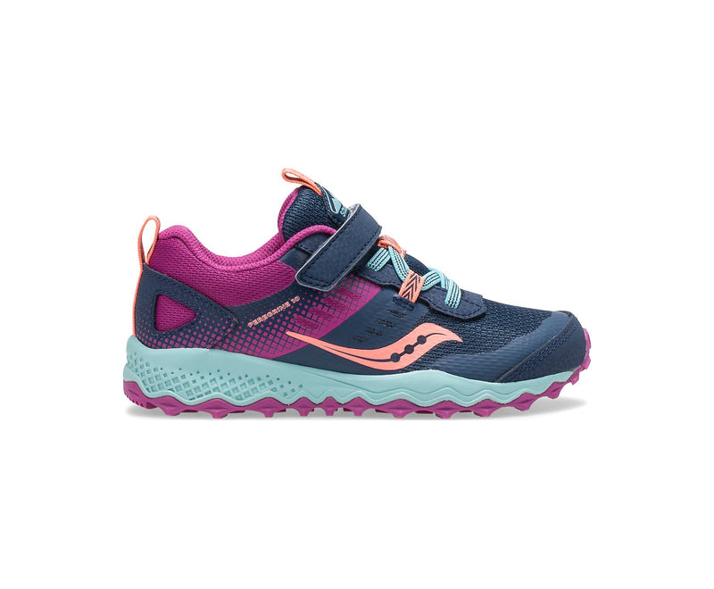 Saucony Peregrine Shield A/C - Navy/Pink/Turquoise