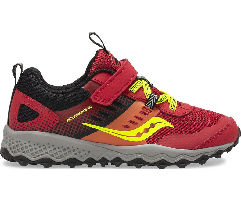 Saucony Peregrine Shield A/C - Red