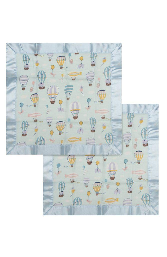 LouLou Lollipop Security Blanket 2pk - Up Up Away