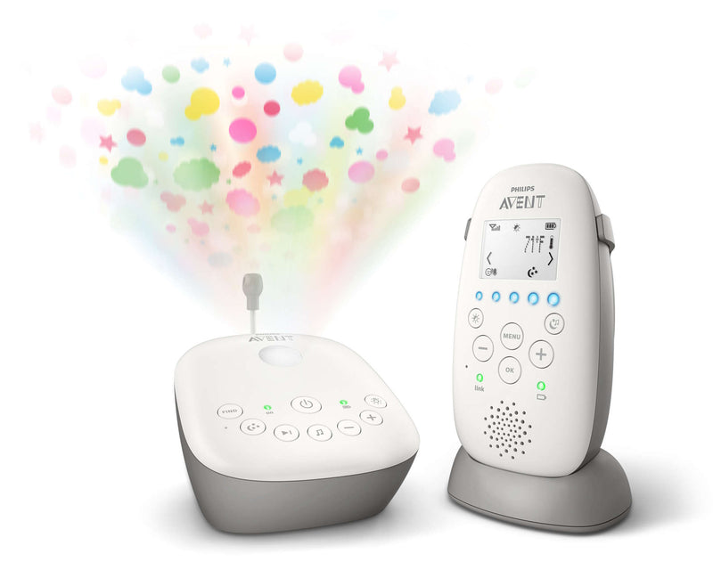 Philips Avent DECT Baby Monitor w/ Starry Night Projector