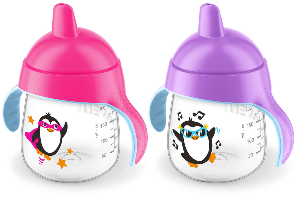 Philips Avent My Lil Sippy Cup 9oz 2pk - Pink/Purple