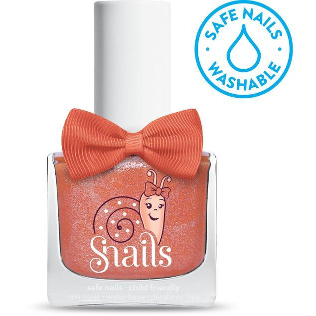 Safe Nails SNails Washable Nail Polish - Ms Carrot Head