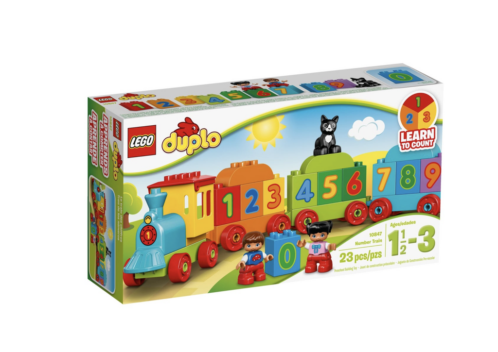 Lego Duplo - Numbers Train 10847