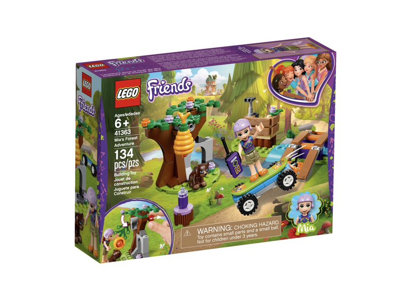 Lego Friends - Mia's Forest Adventure 41363
