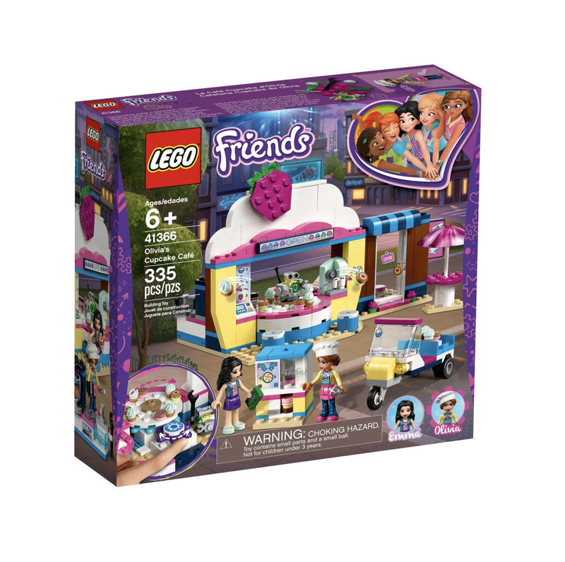 Lego Friends - Olivia's Cupcake Cafe 41366