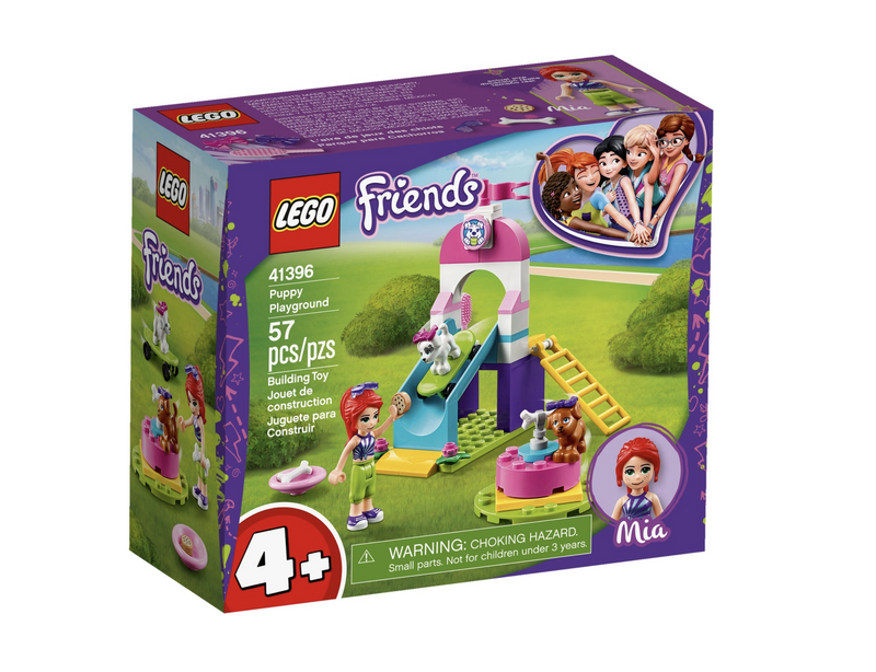 Lego Friends Junior - Puppy Playground 41396