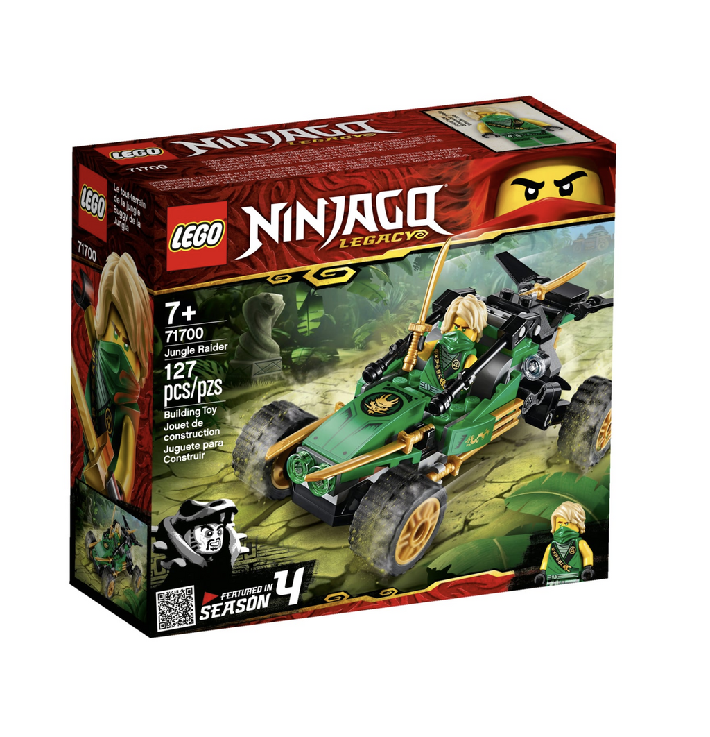 Lego Ninjago - Jungle Raider 71700