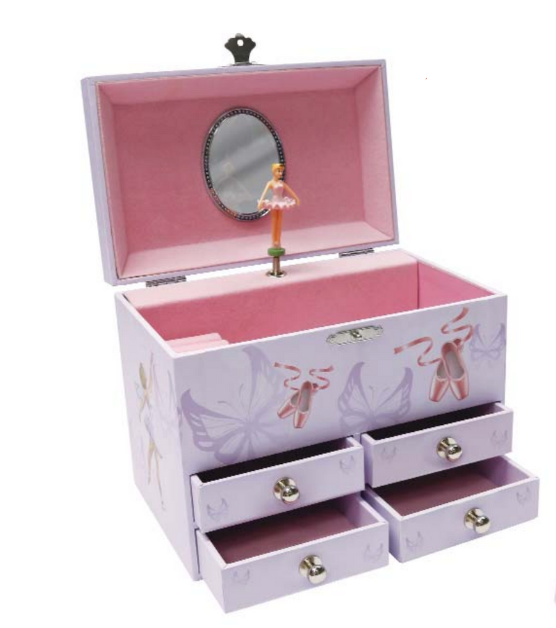 Ballerina Jewelry Music Box