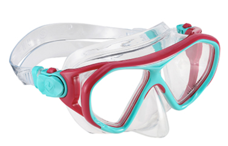Aqua Lung Urchin Jr. Swim Mask 6+ Pink/Teal