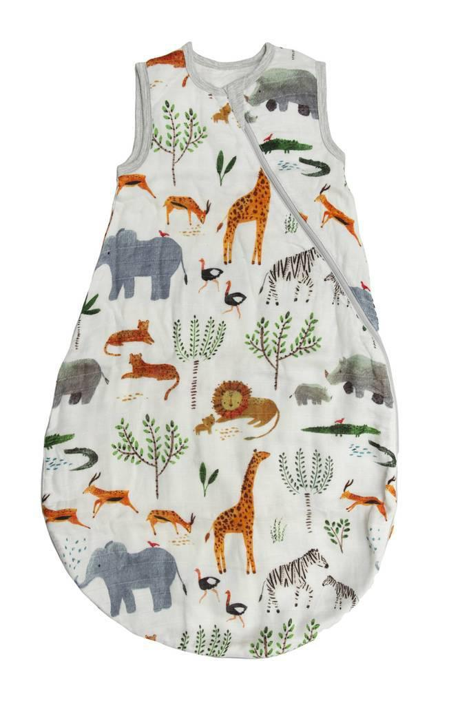 LouLou Lollipop Sleep Sack - 1 TOG - Safari
