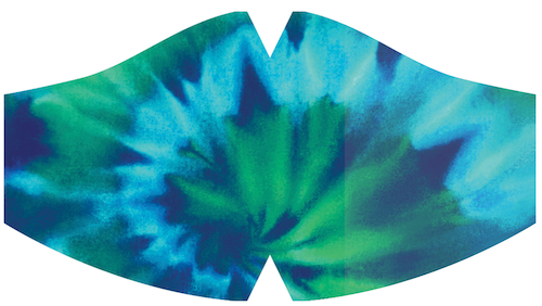 Ambler Kids Face Mask - Tye Die